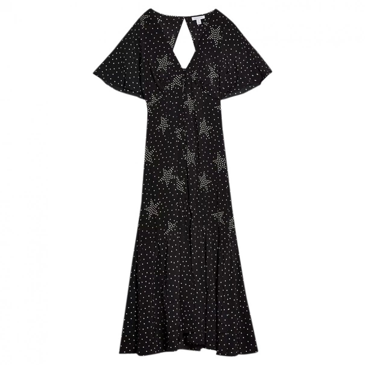 Tophop \N Kleid in  Schwarz Viskose
