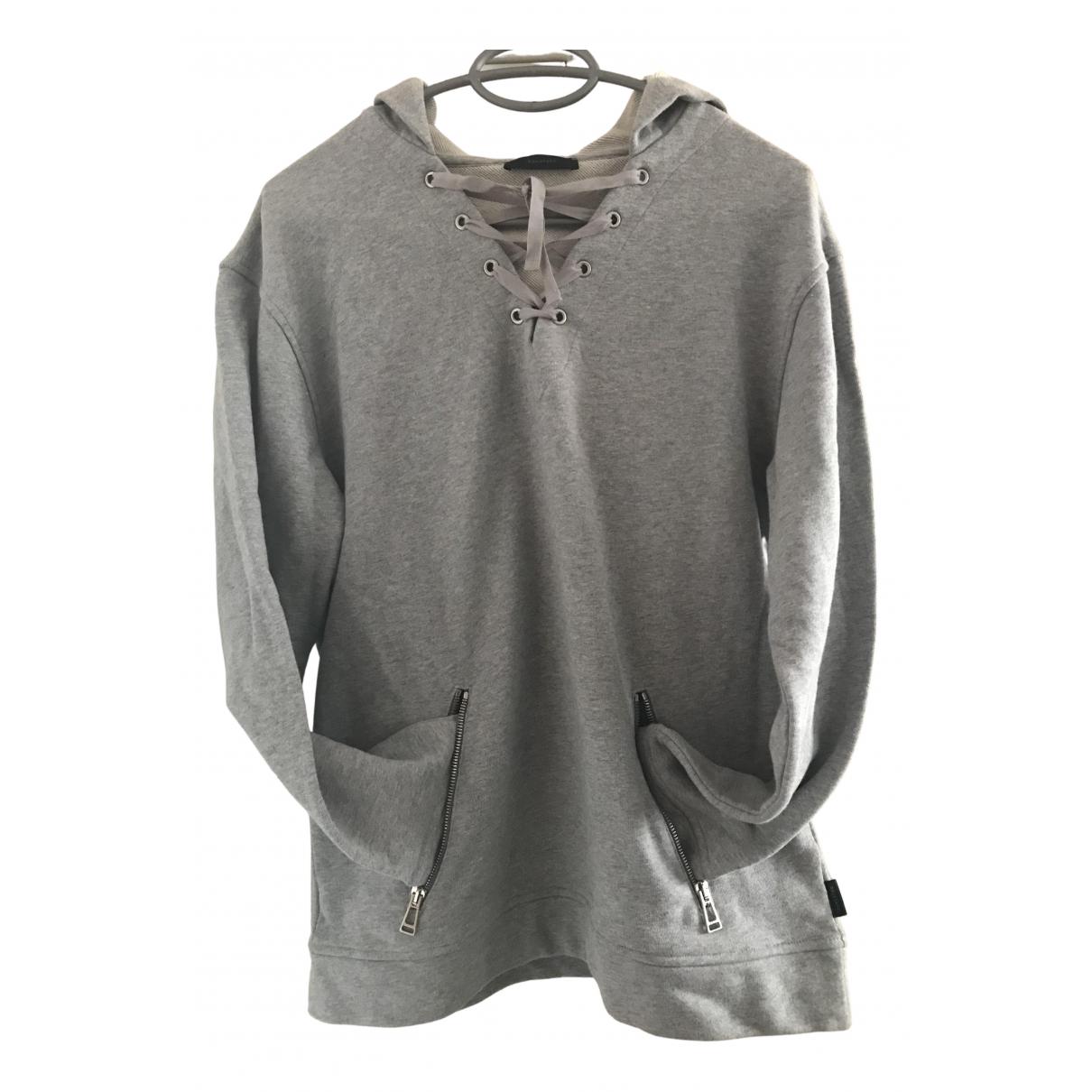 Belstaff - Pull   pour femme en coton - gris
