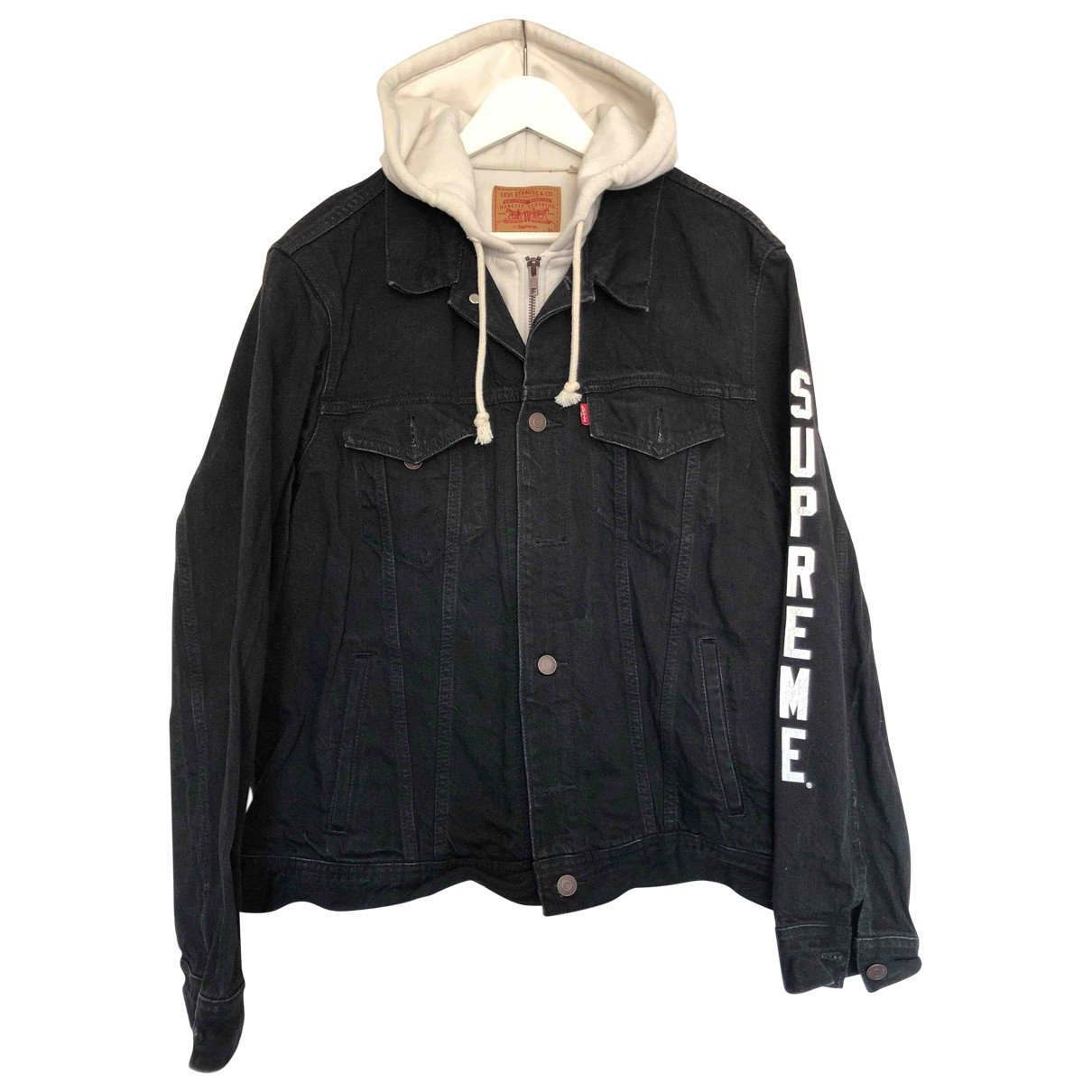 Supreme X Levi's \N Black Denim - Jeans jacket  for Men XL International