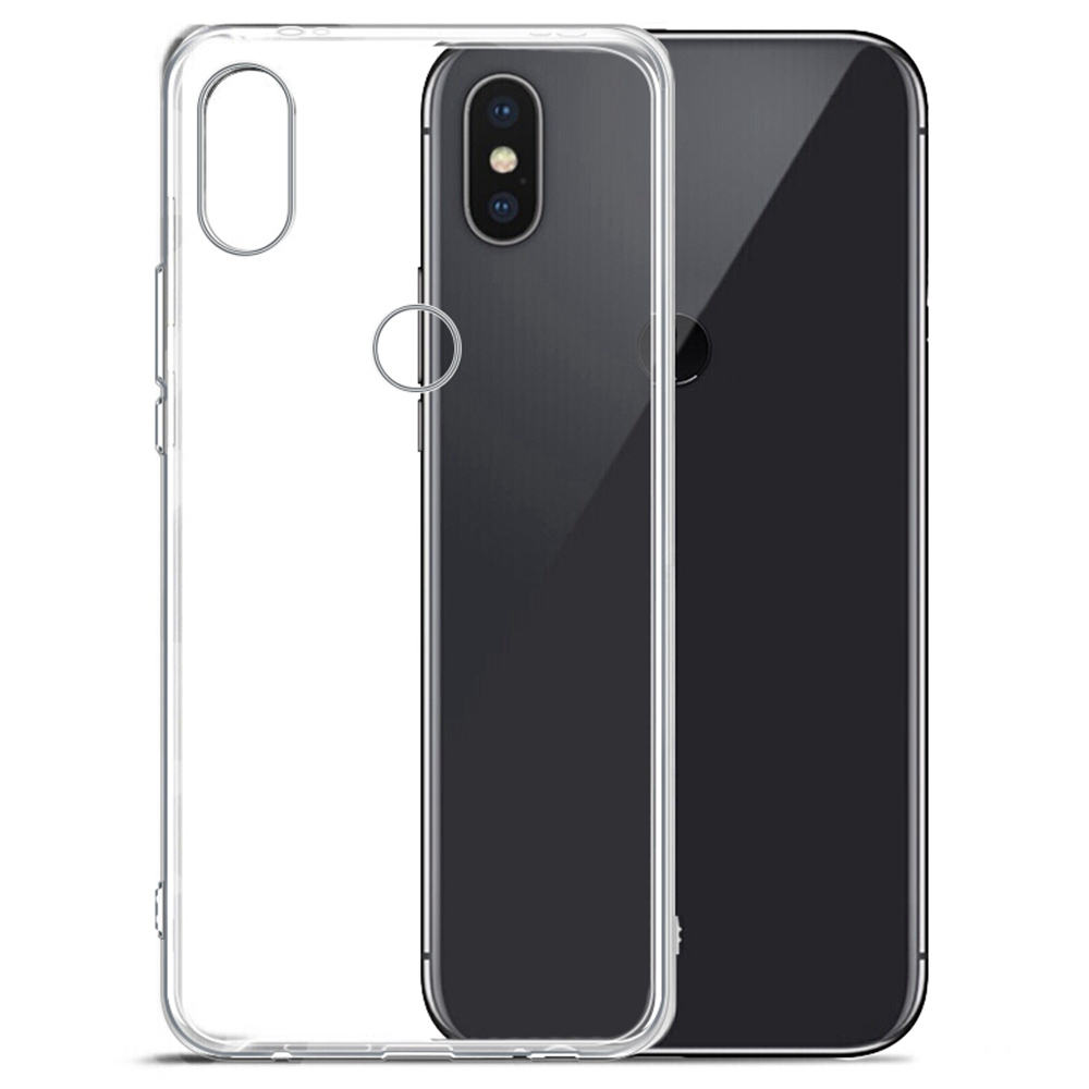 Xiaomi Redmi Note 5 Phone Case Soft Case Protective Phone Shell Back Cover- Transparent