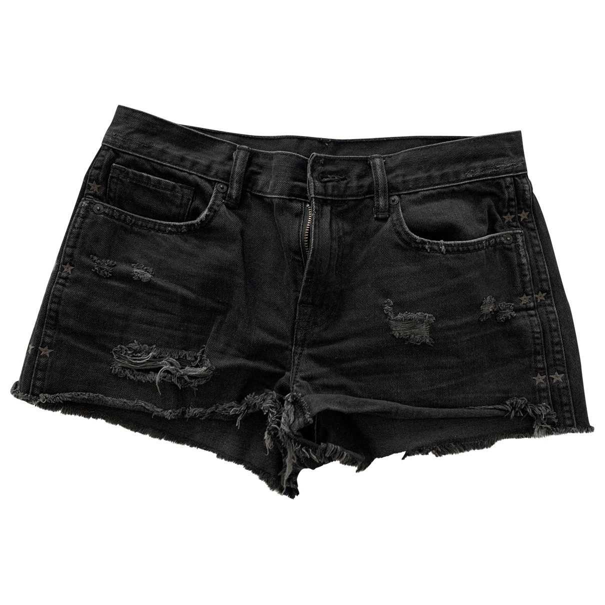 All Saints \N Shorts in  Grau Baumwolle