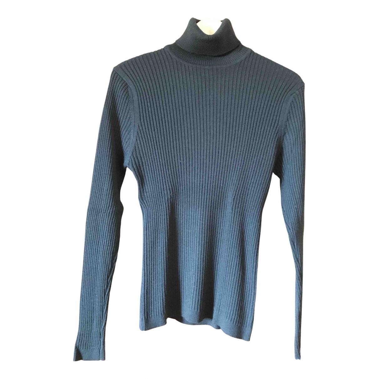 Daniele Alessandrini - Pulls.Gilets.Sweats   pour homme en laine - noir