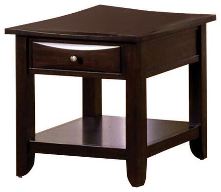 BM123128 Baldwin Transitional End Table  Espresso