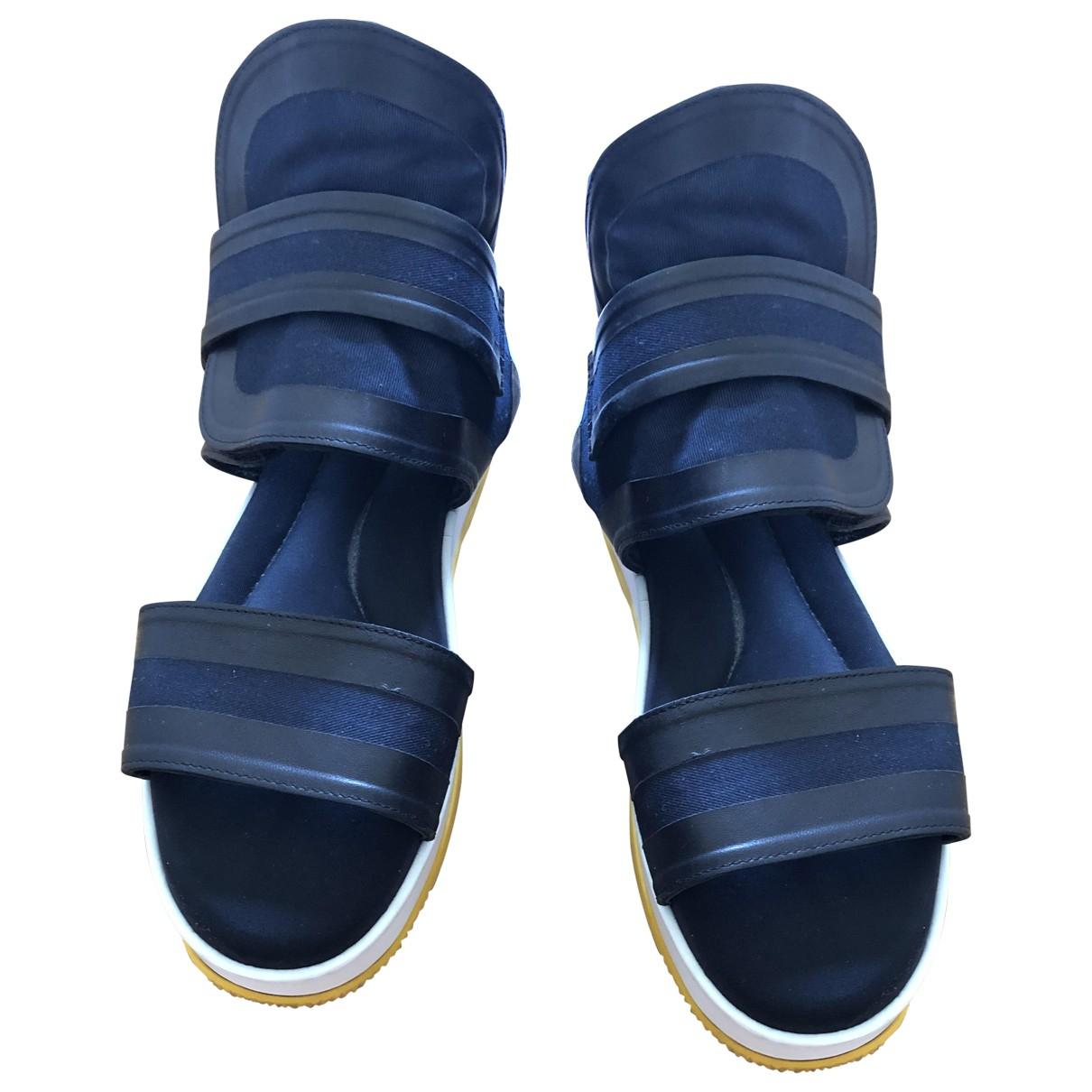 Marni \N Blue Cloth Sandals for Women 39 EU