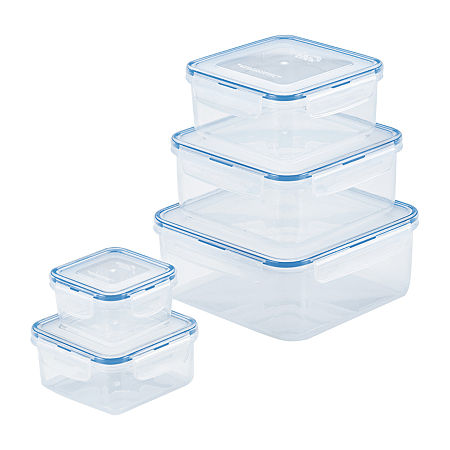 Lock & Lock 10-pc. Food Container, One Size , No Color Family