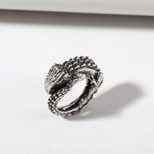 Men Snake Design Ring