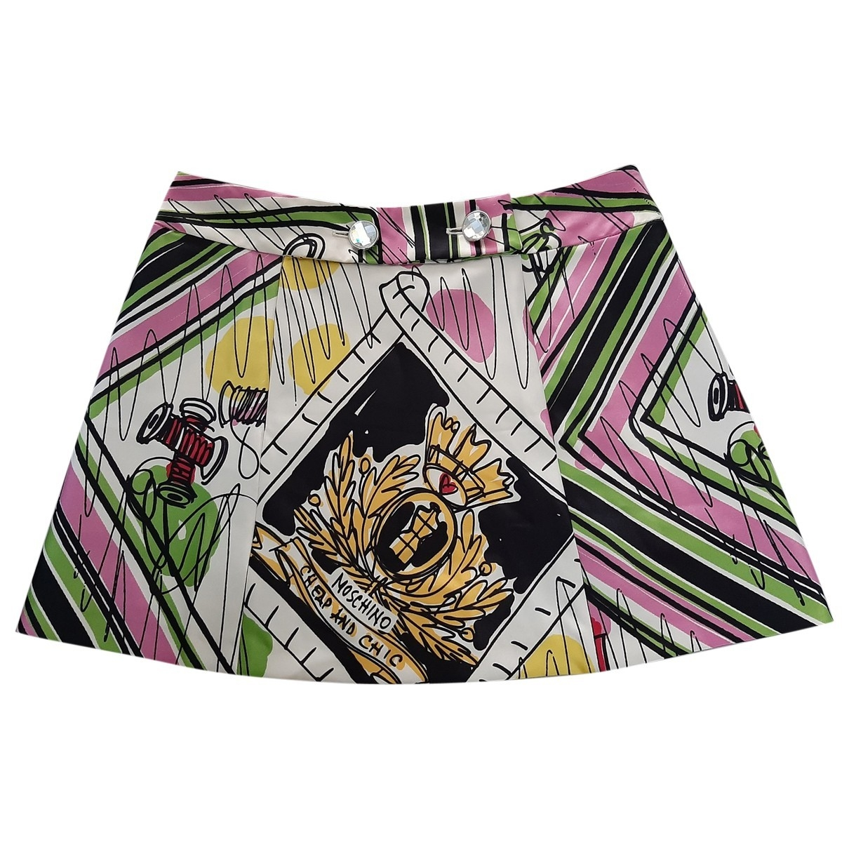 Moschino Cheap And Chic \N Rocke in  Bunt Polyester