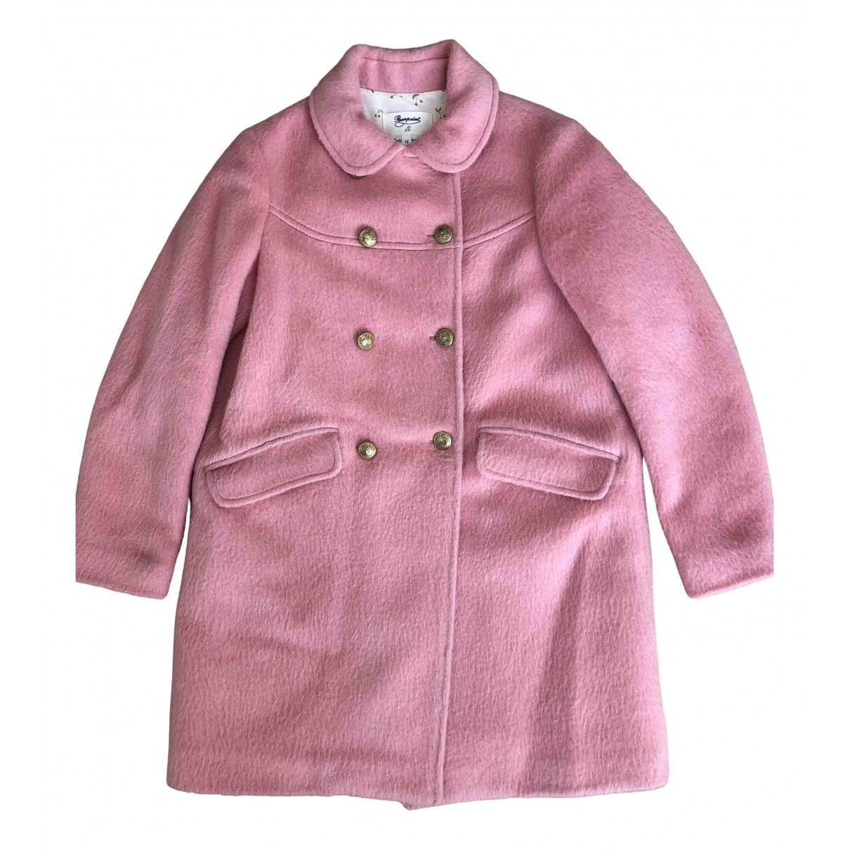 Bonpoint N Pink Wool jacket & coat for Kids 12 years - XS FR