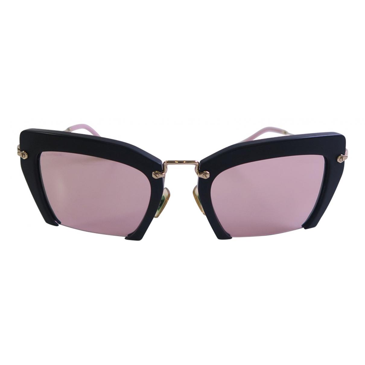 Miu Miu N Black Metal Sunglasses for Women N