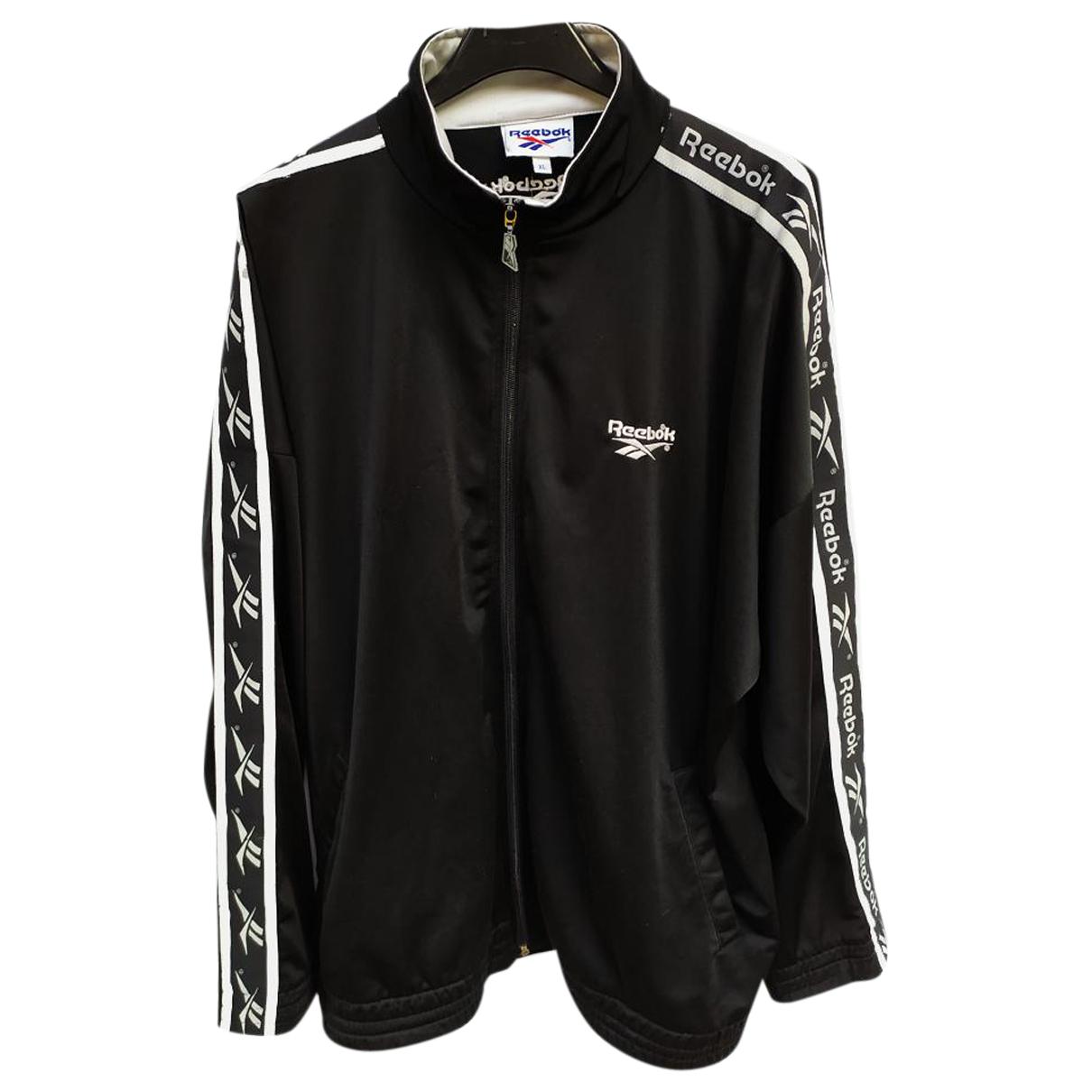 Reebok \N Jacke in  Schwarz Polyester