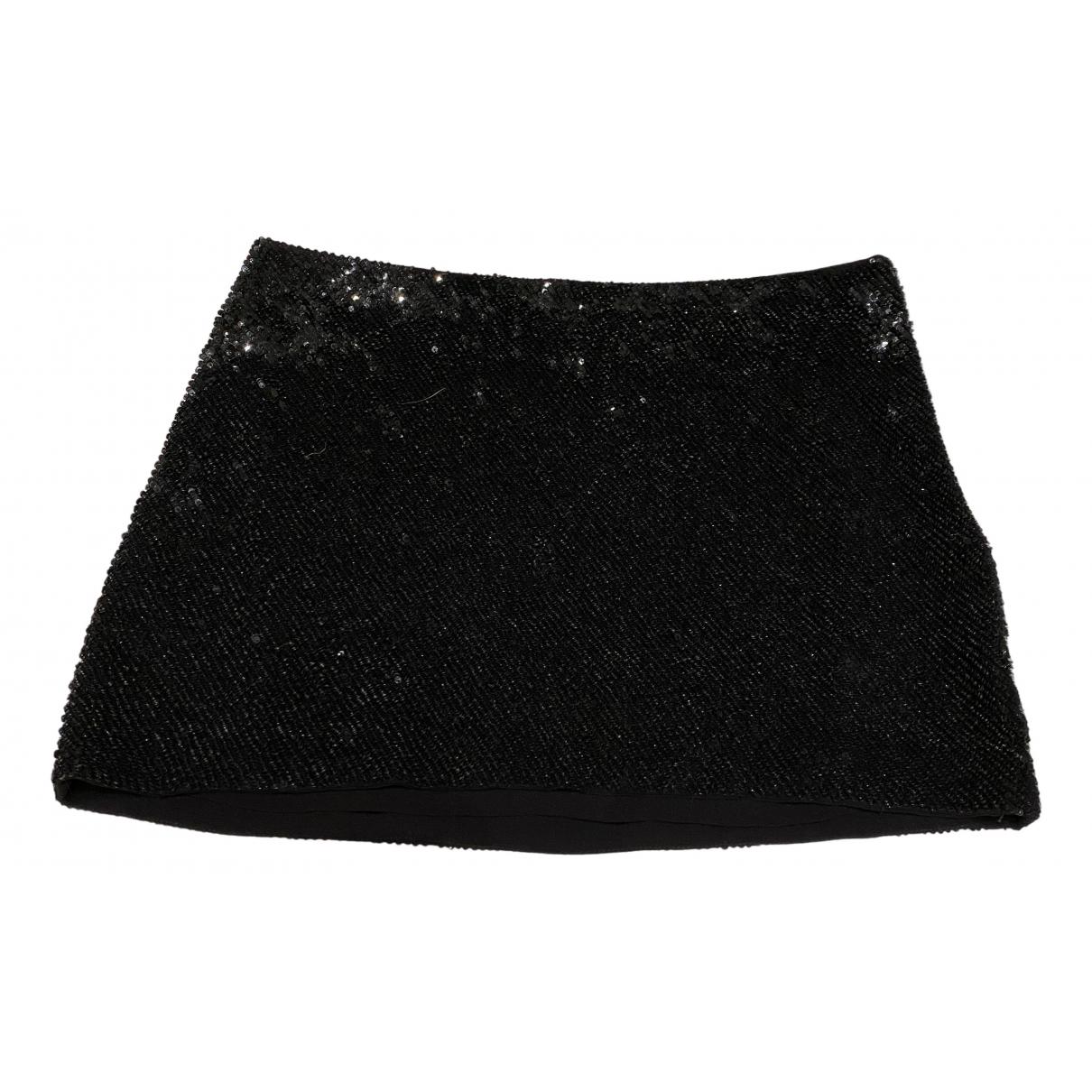 Haute Hippie - Jupe   pour femme en soie - noir