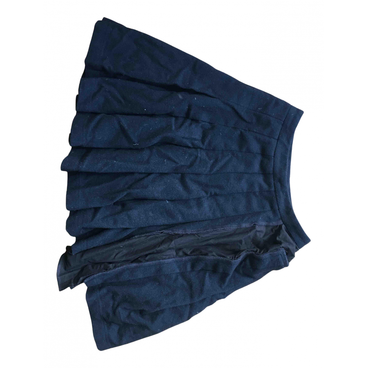 Comme Des Garcons X H&m - Jupe   pour femme en laine - noir