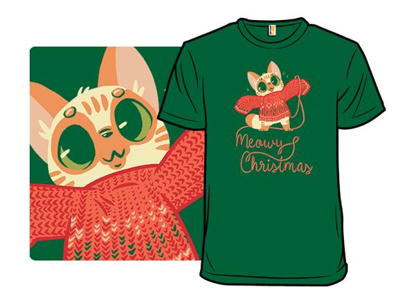 Meowy Christmas! T Shirt
