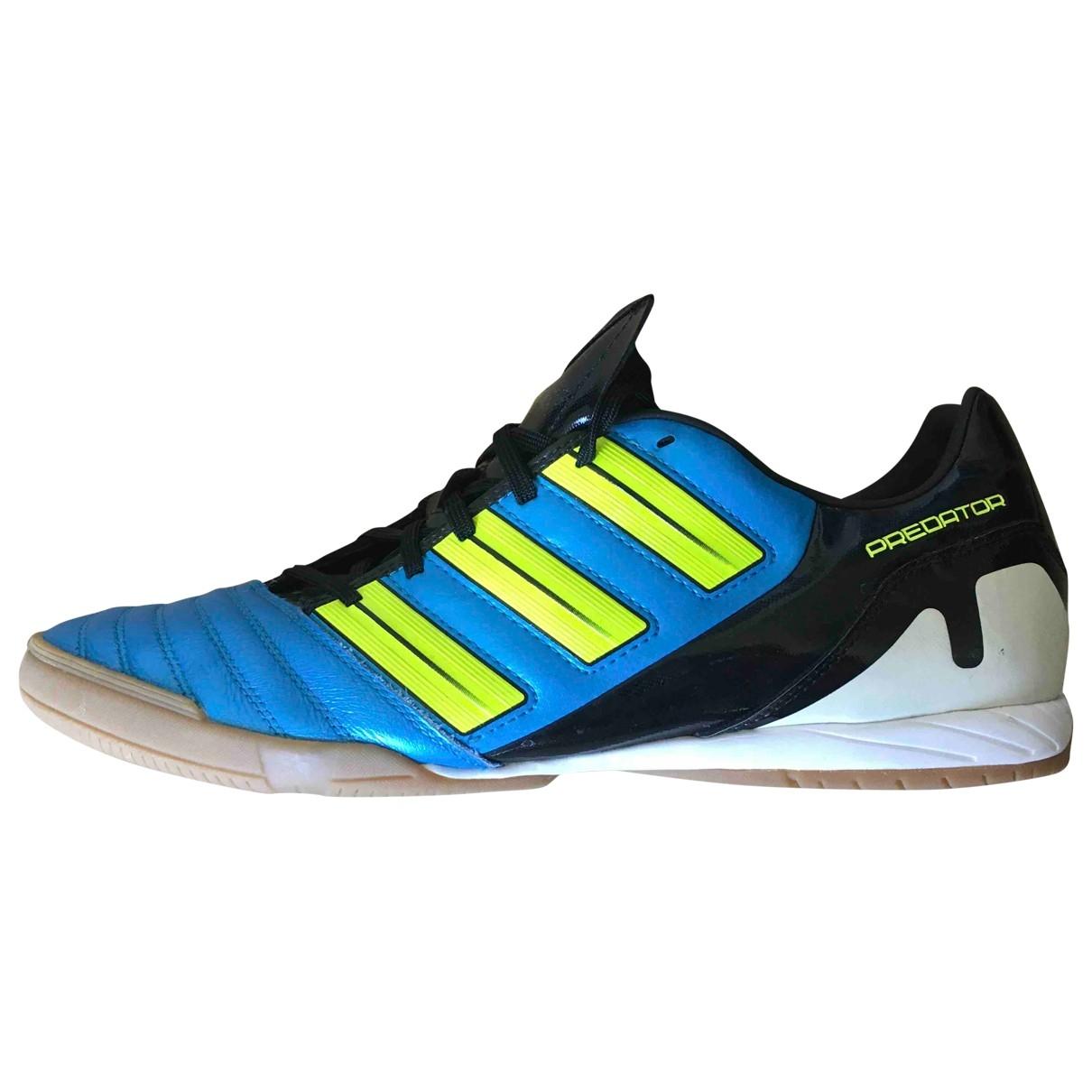 Adidas \N Sneakers in  Blau Leder