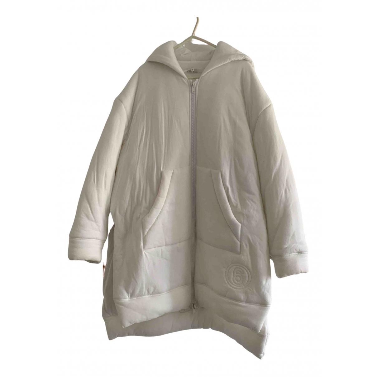 Mm6 - Veste   pour femme en laine - blanc