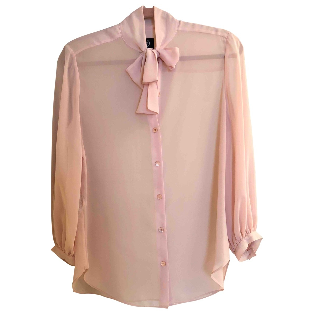 Mcq \N Top in  Rosa Polyester