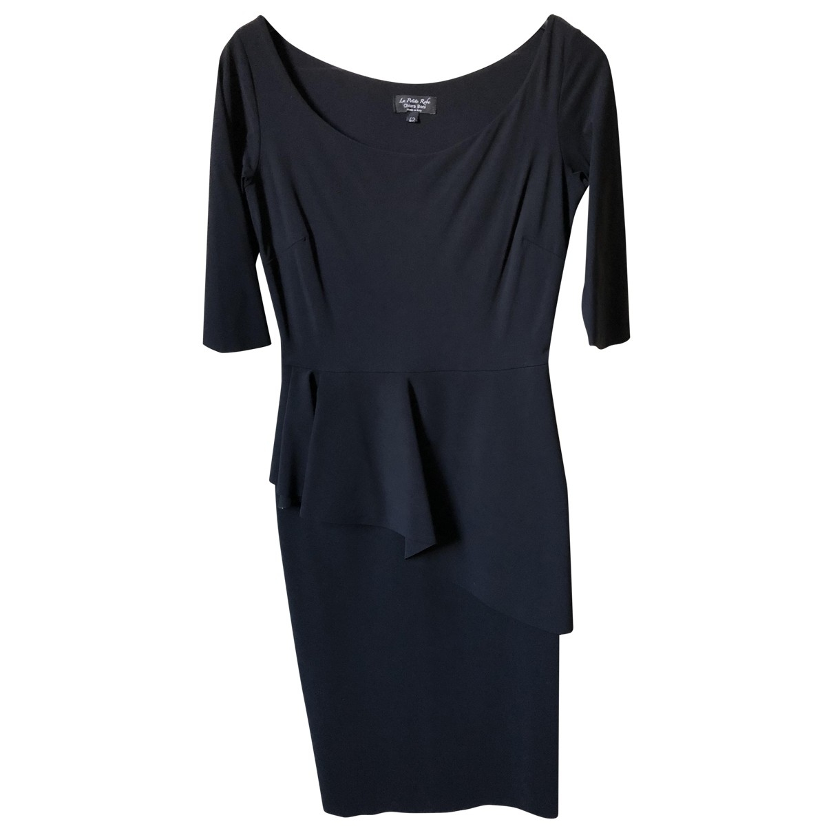 Chiara Boni \N Kleid in  Schwarz Polyester