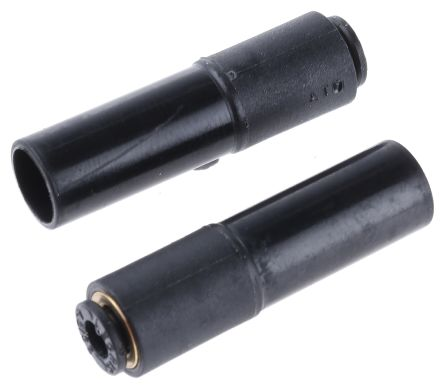 Legris Tube-to-Tube 3166 Pneumatic Straight Tube-to-Tube Adapter, Plug In 4 mm to Plug In 10 mm (5)