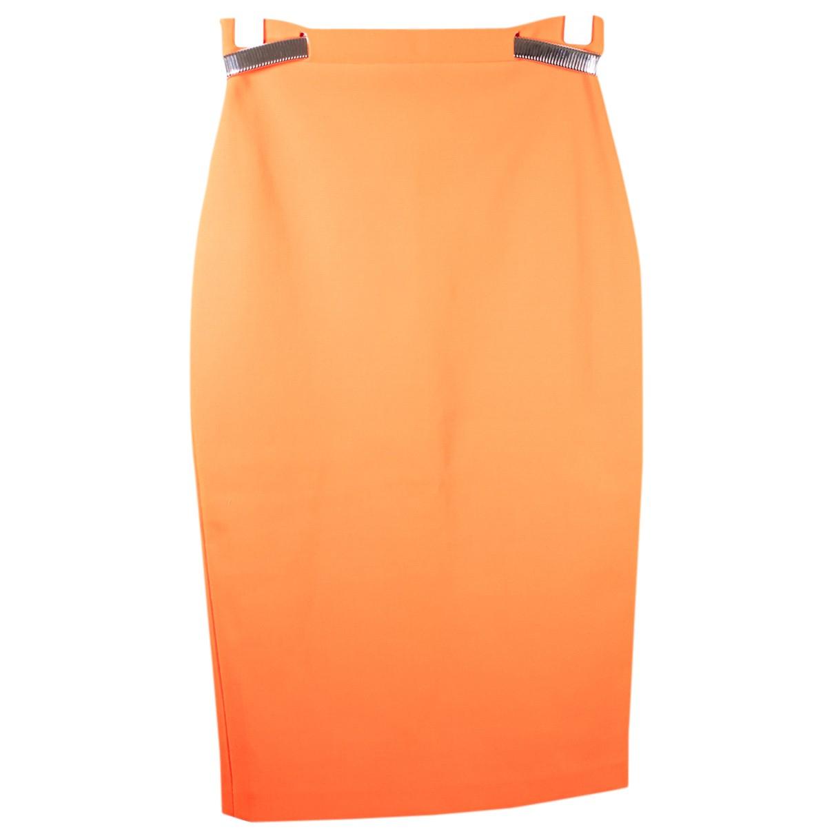 Thierry Mugler - Jupe   pour femme - orange