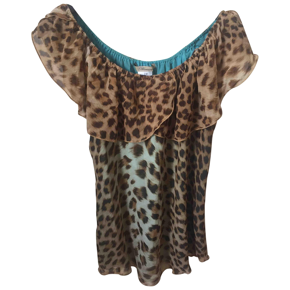 Blumarine \N Multicolour Silk  top for Women 42 IT