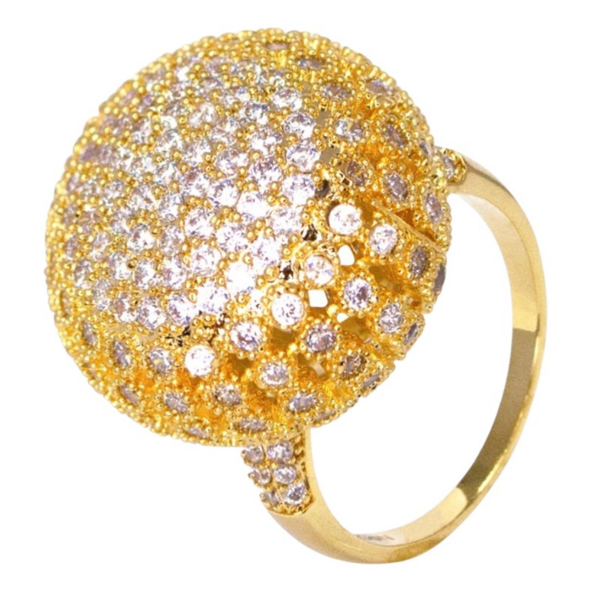 Thot Gioielli - Bague   pour femme en plaque or - dore