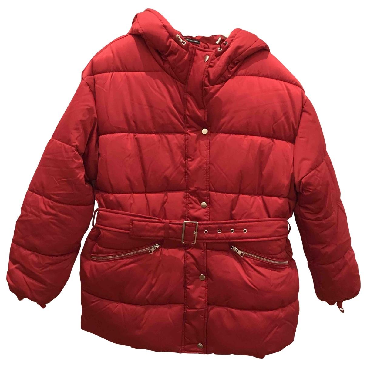 Zara \N Maentel in  Rot Viskose