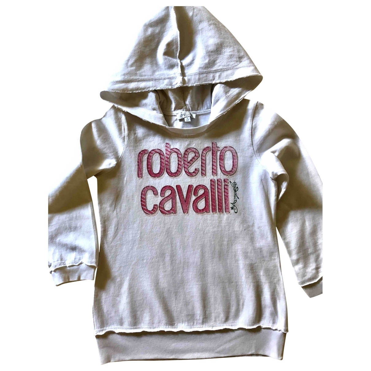 Roberto Cavalli \N White Cotton Knitwear for Kids 4 years - up to 102cm FR