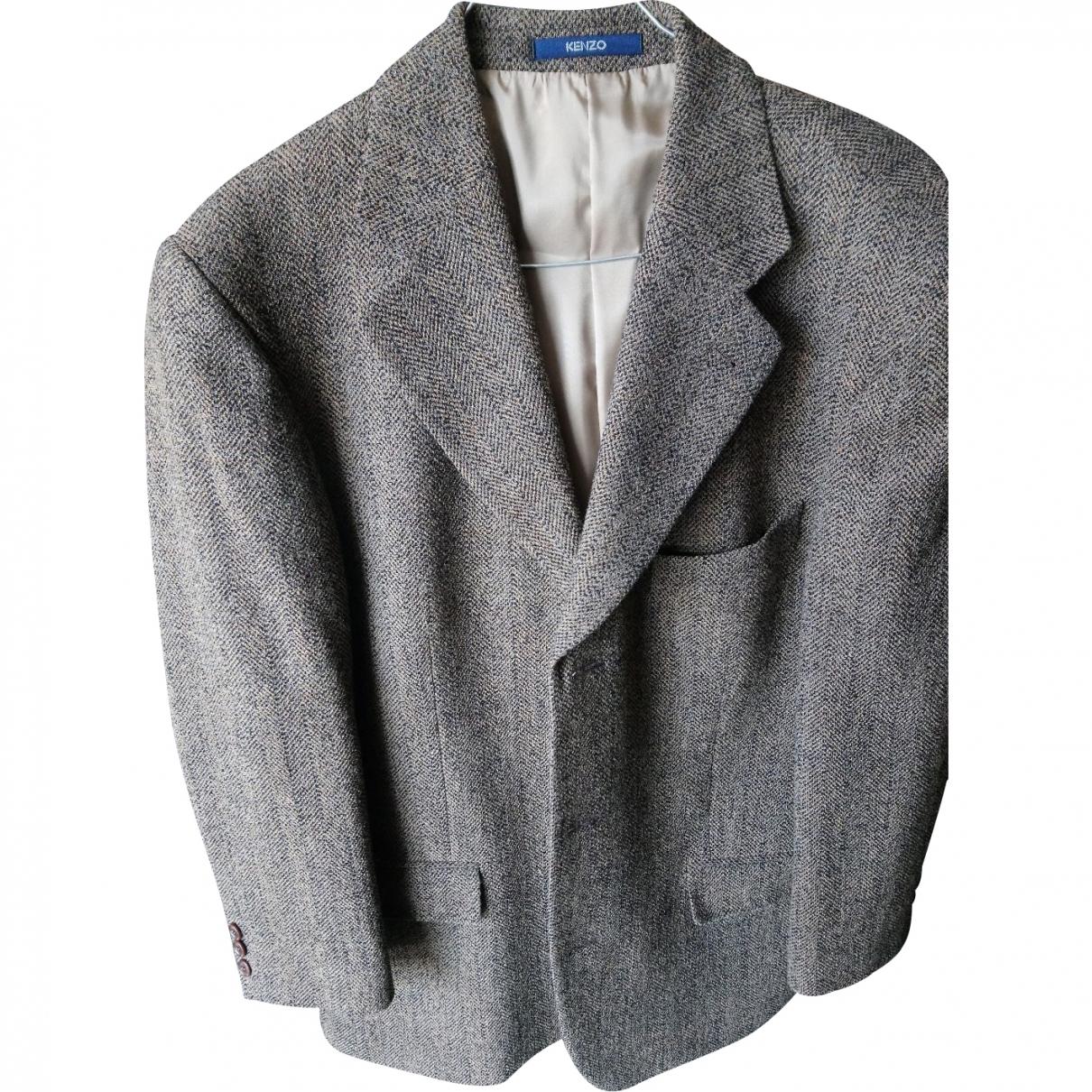 Kenzo \N Multicolour Wool jacket  for Men 50 FR