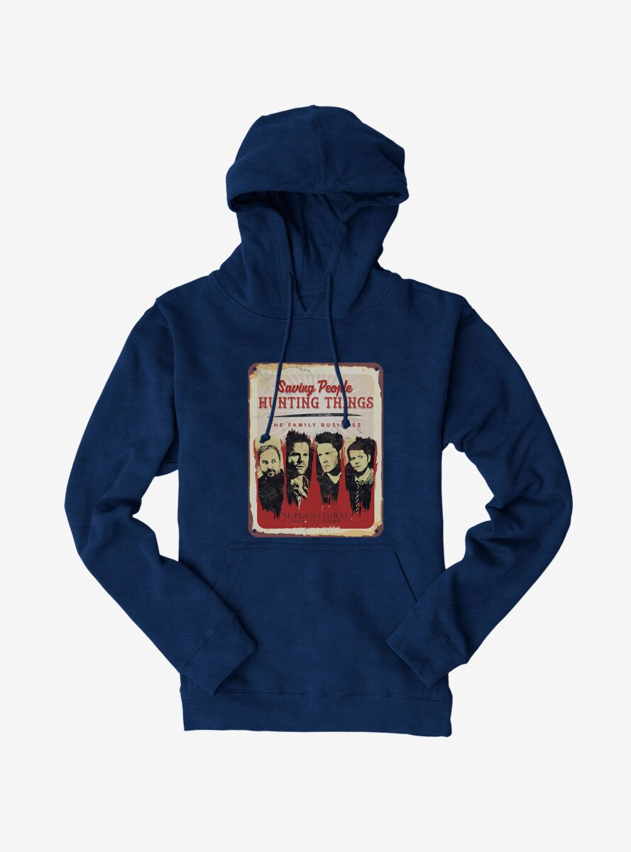 Supernatural The Family Business Hoodie