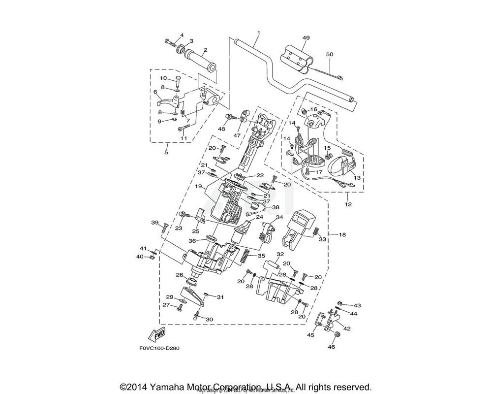 Yamaha OEM F0D-6134M-00-00 BUSH