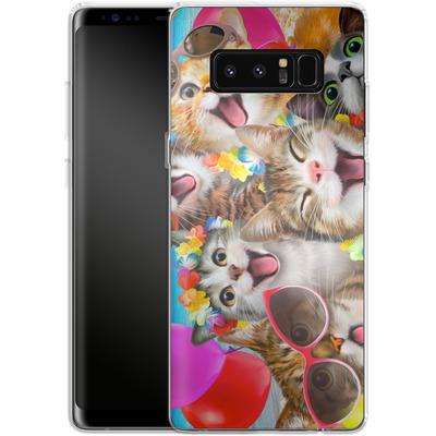 Samsung Galaxy Note 8 Silikon Handyhuelle - Selfie Luau von Howard Robinson
