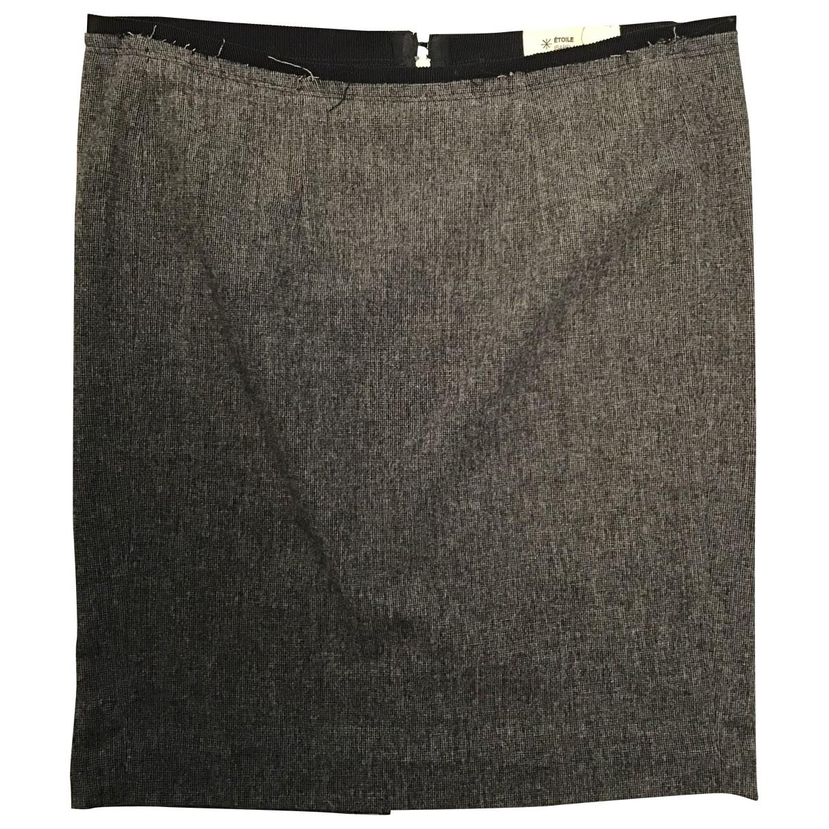 Isabel Marant Etoile \N Grey Wool skirt for Women 1 0-5
