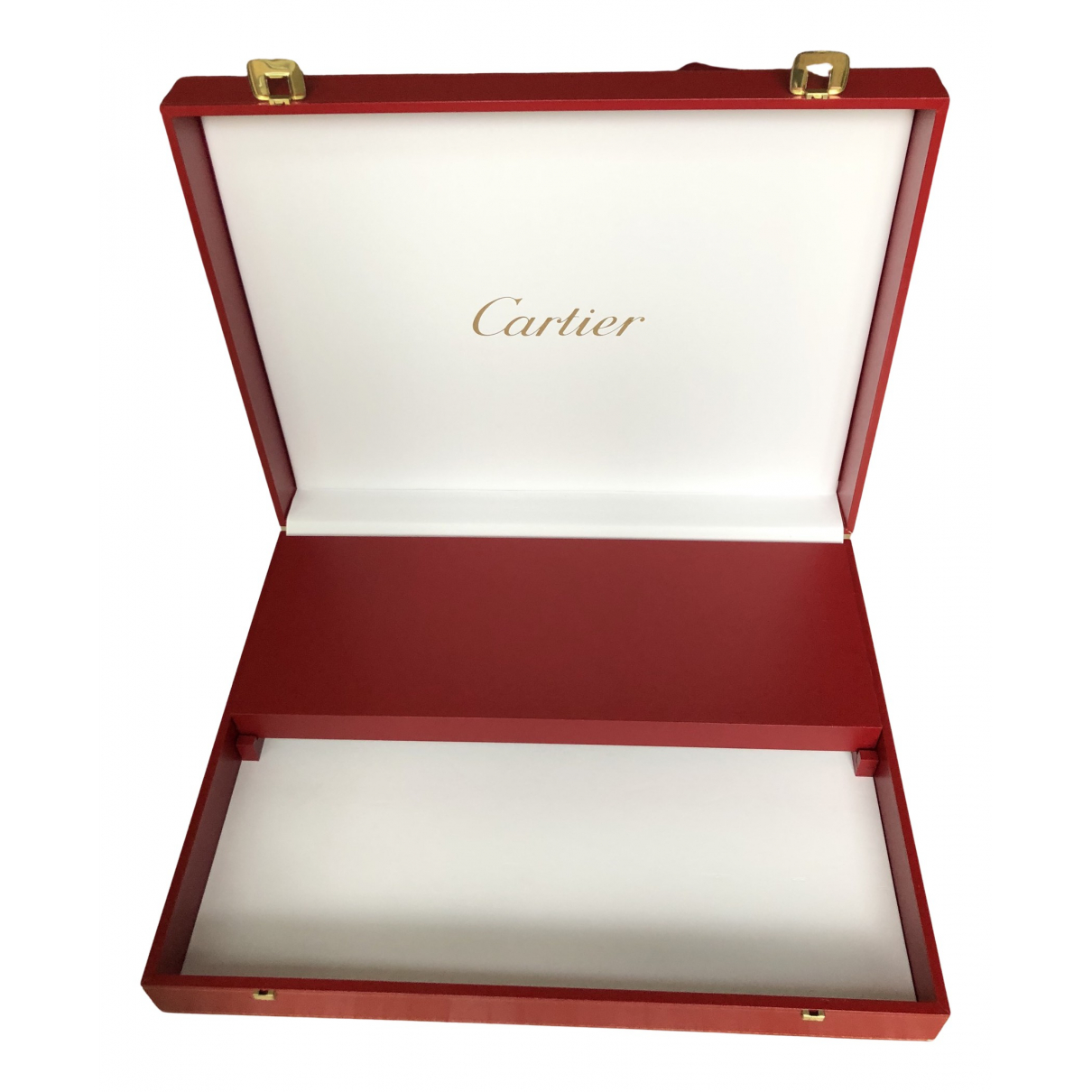 Cartier N Red Leather Home decor for Life & Living N