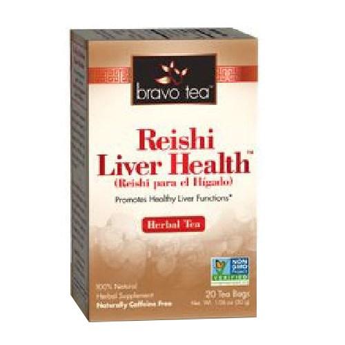 Reishi Liver Health Tea 20 Bags by Bravo Tea & Herbs