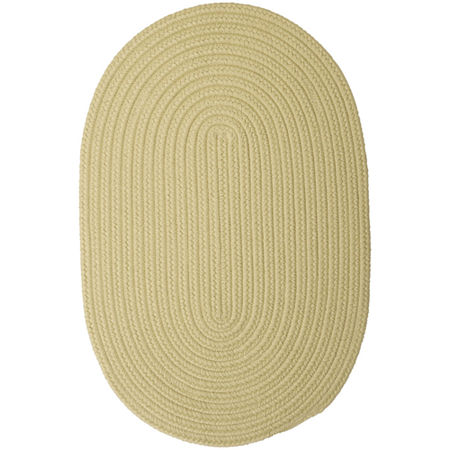 Colonial Mills Nantucket Reversible Braided Indoor/Outdoor Oval Rug, One Size , Green