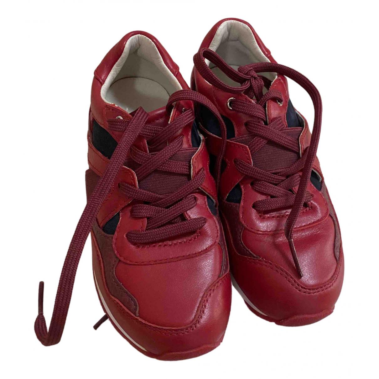 Dolce & Gabbana \N Sneakers in  Rot Leder