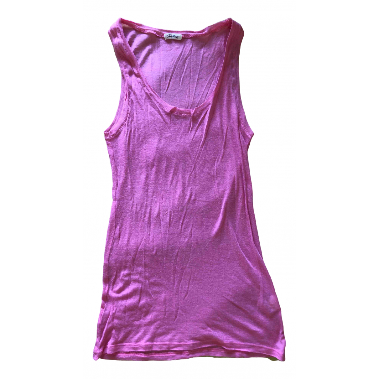 American Vintage \N Pink Cotton  top for Women M International