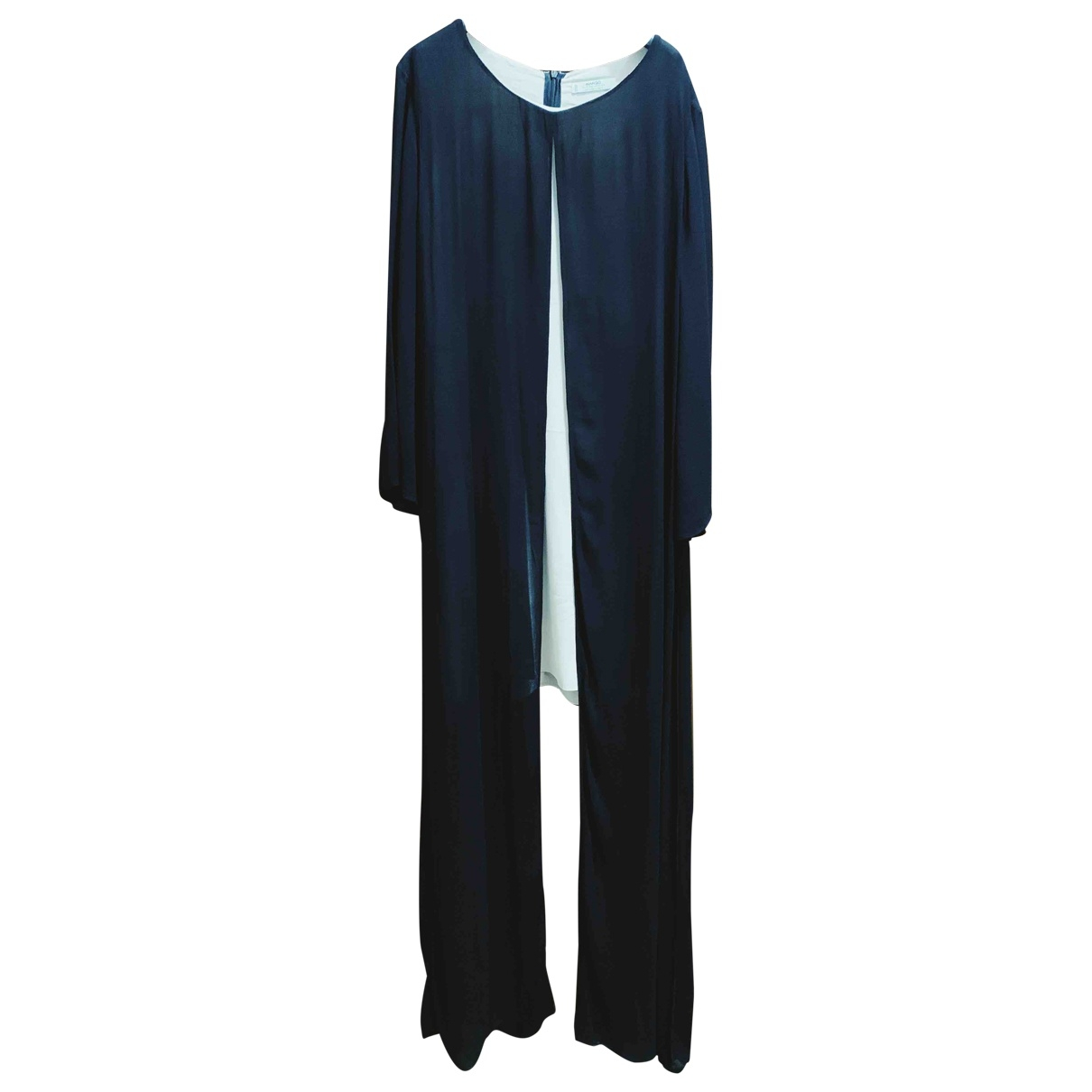 Mango \N Black Silk dress for Women L International
