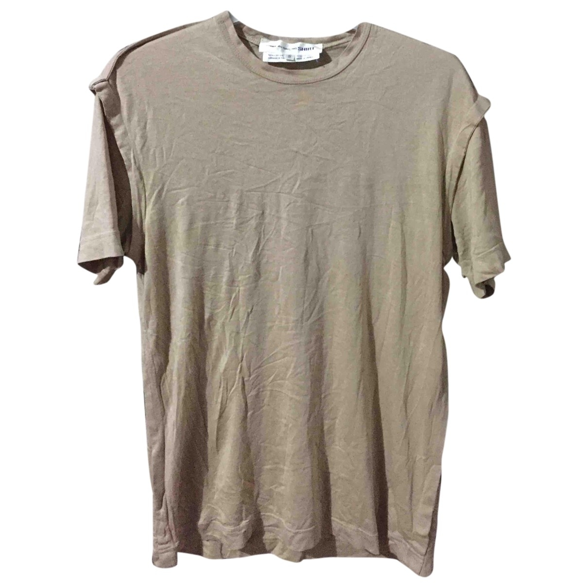 Comme Des Garcons \N T-Shirts in  Beige Baumwolle