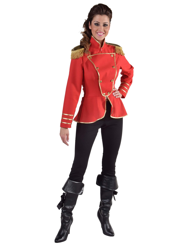 Damen-Kostuem Uniformjacke Damen rot XL Grosse: XL