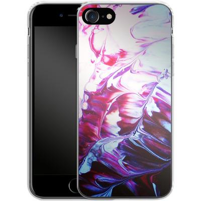 Apple iPhone 7 Silikon Handyhuelle - Macro 8 von Gela Behrmann