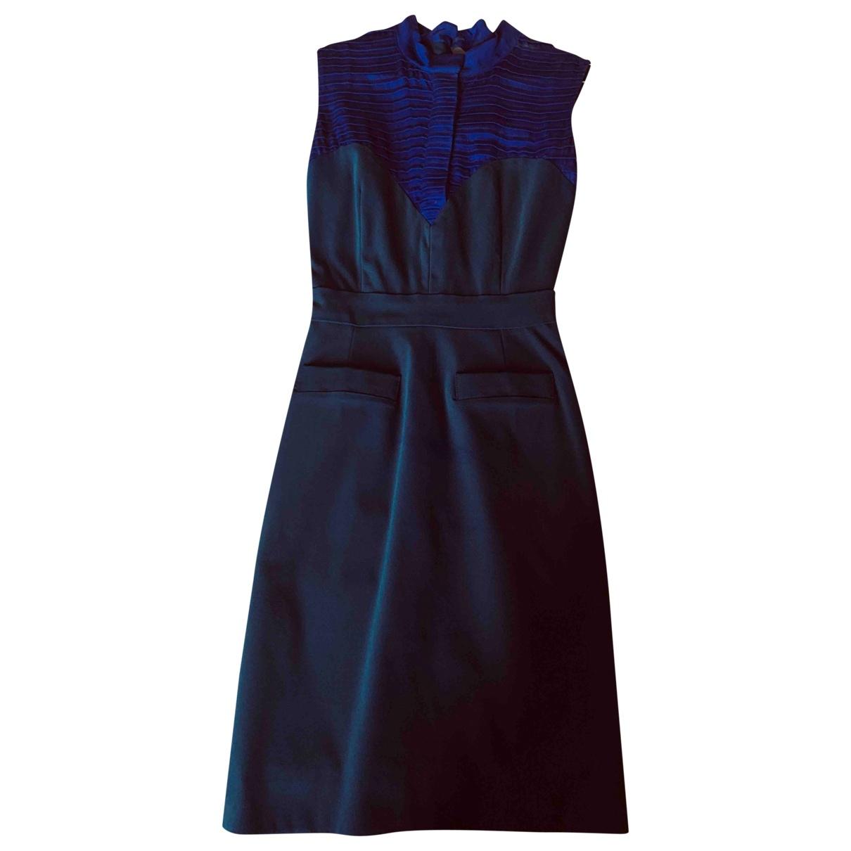 Preen By Thornton Bregazzi - Robe   pour femme en soie - bleu