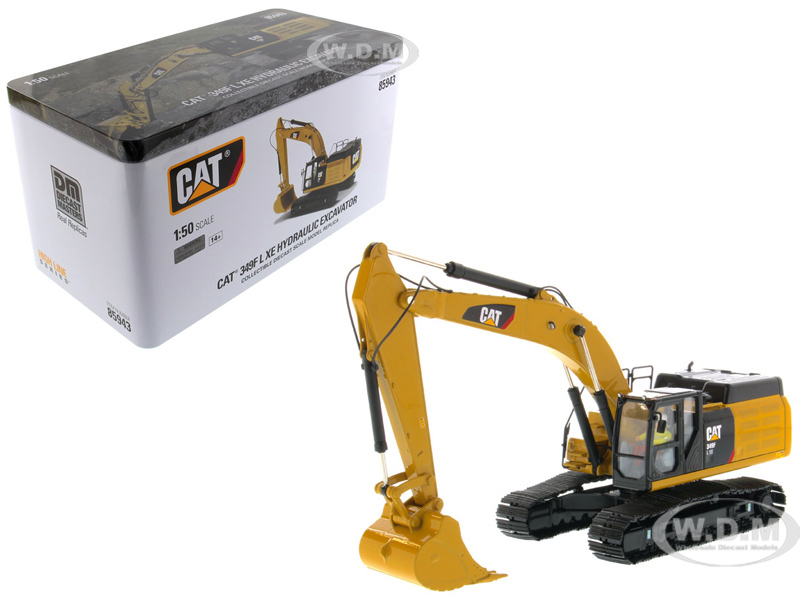 CAT Caterpillar 349F L XE Hydraulic Excavator with Operator