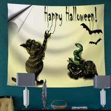 Teppich mit Halloween Muster