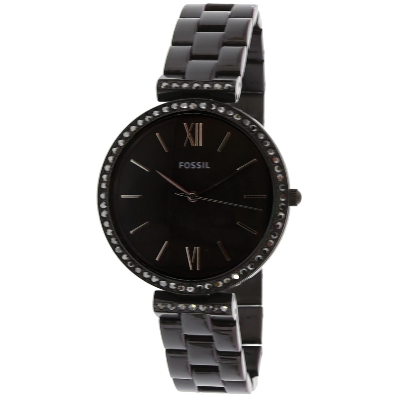 Fossil Women's Madeline ES4540 Black Stainless-Steel Japanese Quartz Fashion Watch
