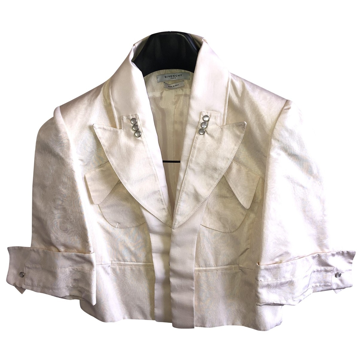 Givenchy \N White Silk jacket for Women 42 FR