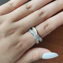 Rhinestone Decor Ring