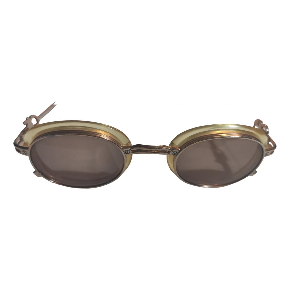 Jean Paul Gaultier N Gold Metal Sunglasses for Women N