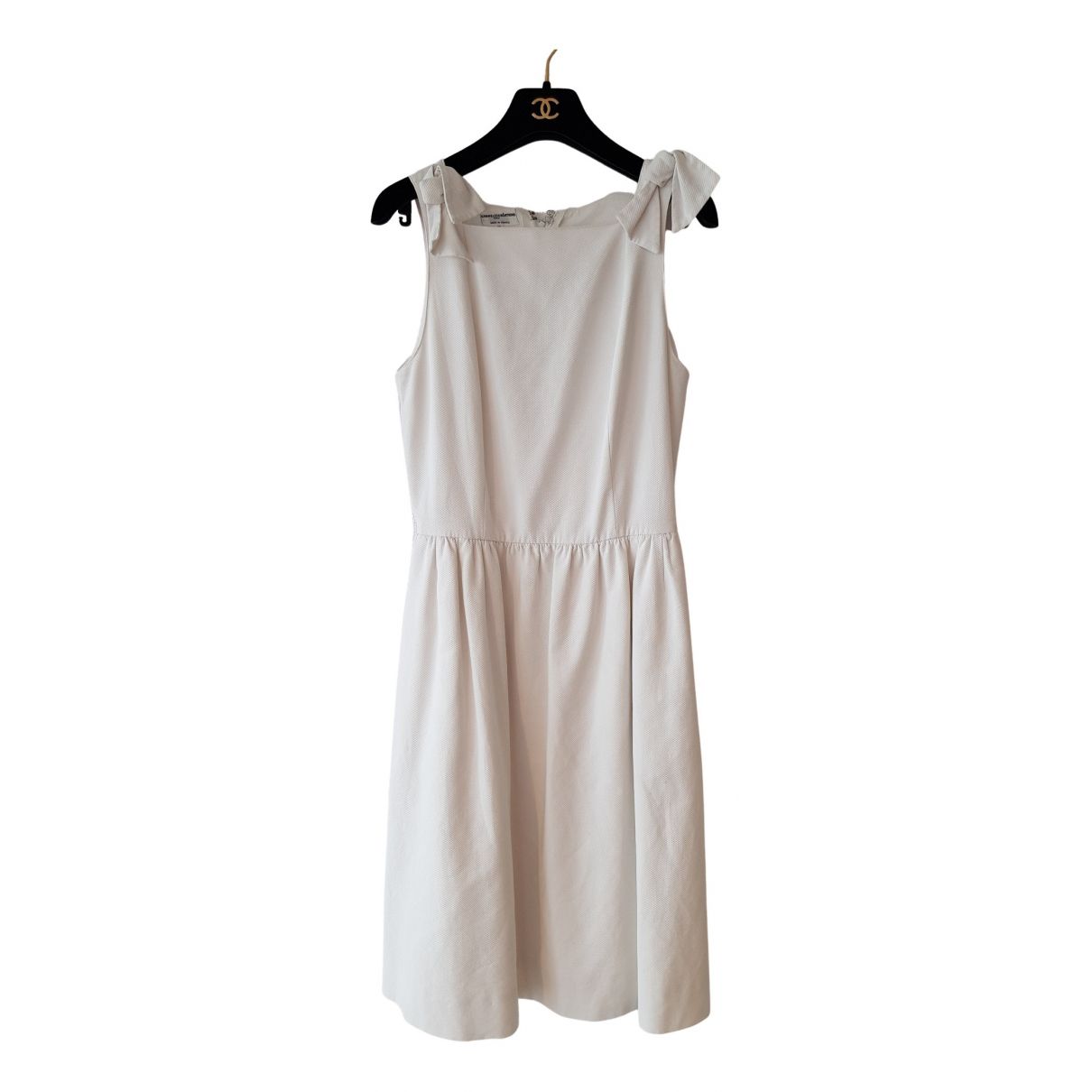 Chanel N White Cotton dress for Women 10 US
