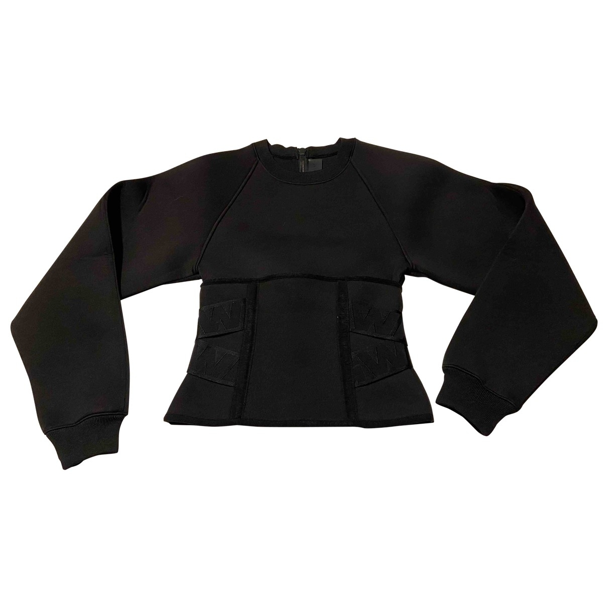 Alexander Wang Pour H&m \N Pullover in  Schwarz Synthetik